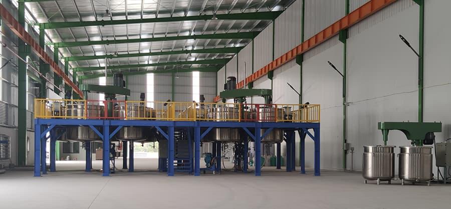 Chuyển giao công thức sản xuất sơn nước