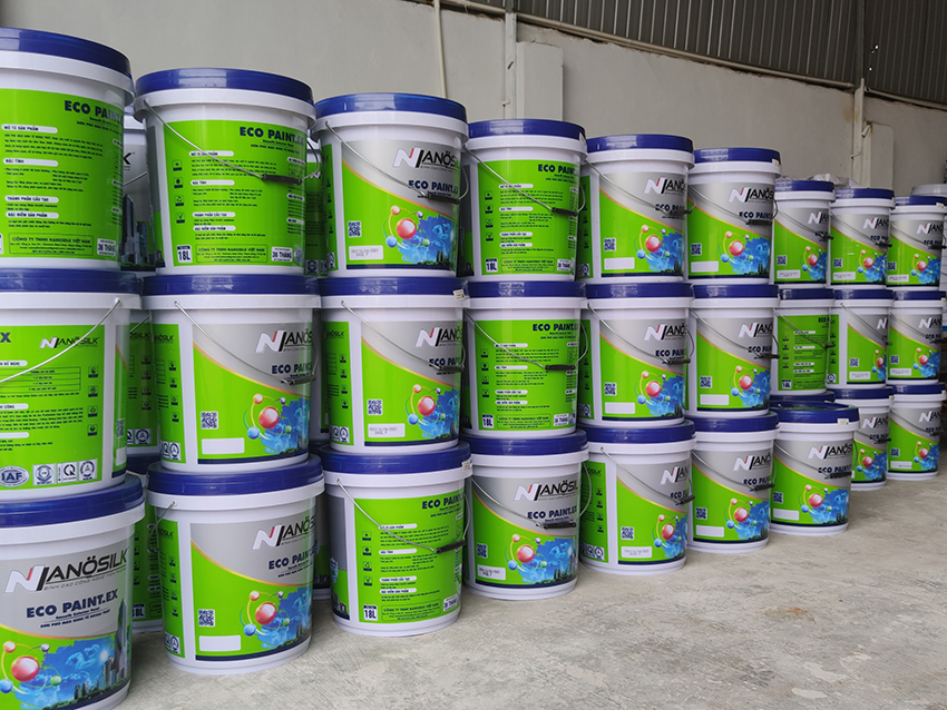 Dây chuyền sản xuất sơn nước