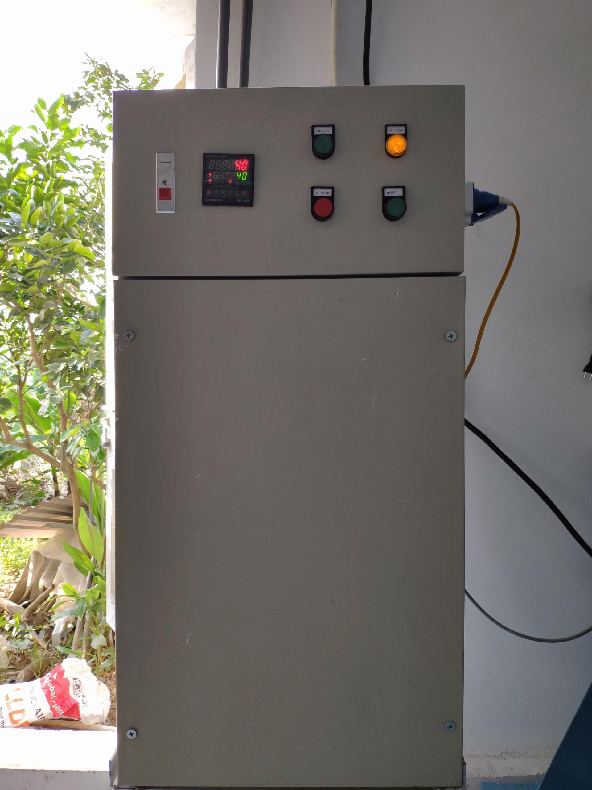 máy bơm định lượng nước