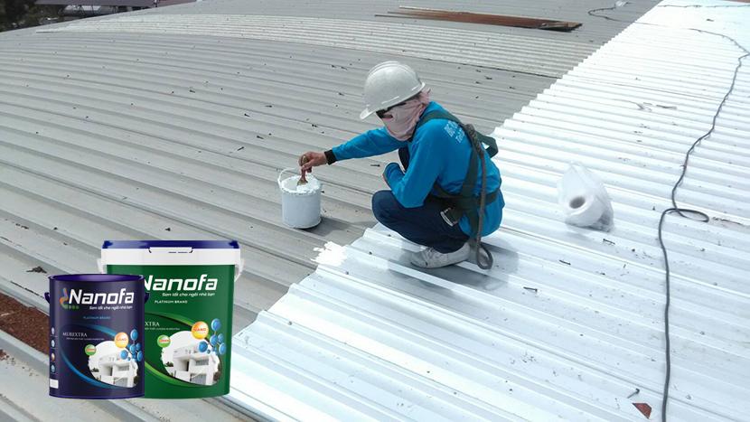 Sơn chống nóng mái tôn có hiệu quả không