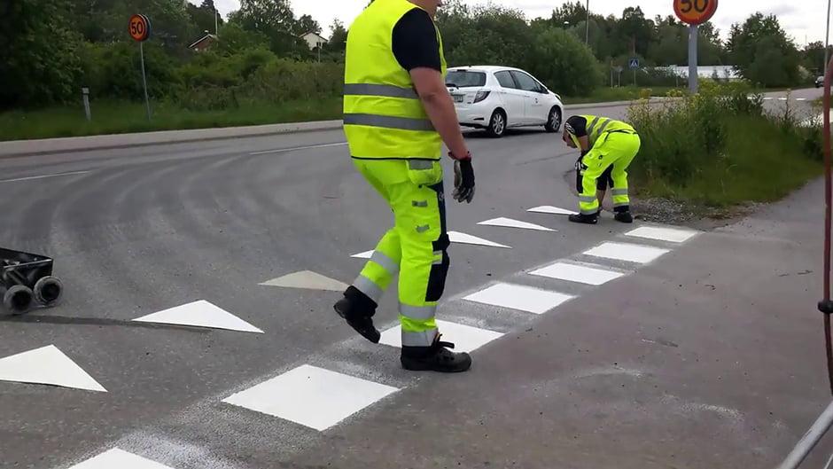 Công nghệ sơn vạch kẻ đường giao thông