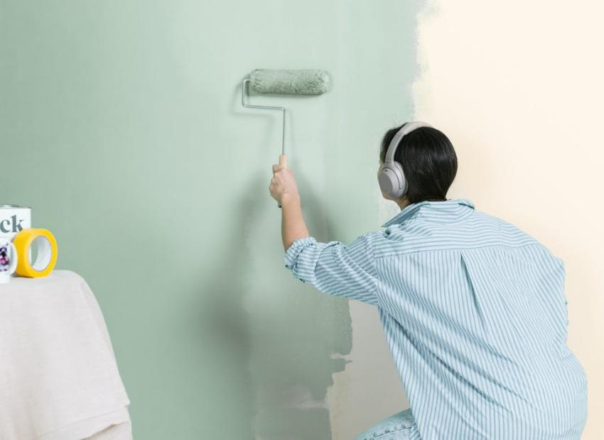 quy trình pha sơn nước